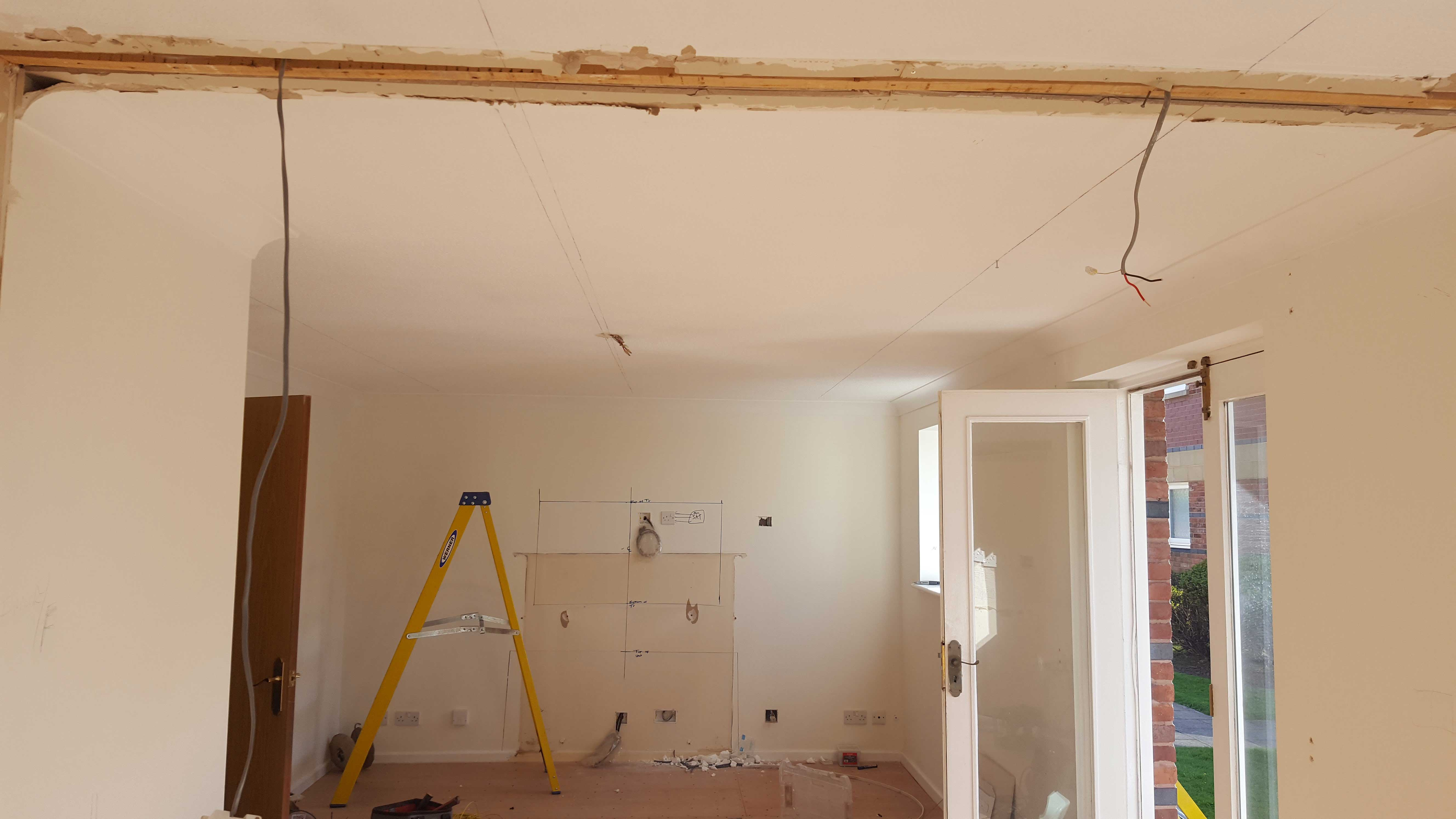 Full Hallway And Kitchen Rewire Tynemouth North East Electrical Rewiring A Room